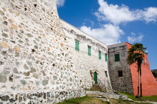 Stock Photo: 1486-15958 United States Virgin Islands, Caribbean , St. Thomas Island,  Charlotte Amalie City, Fort Christian