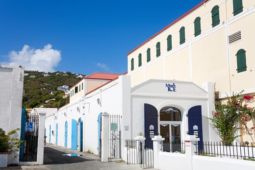 Stock Photo: 1486-15980 Caribbean, United States Virgin Islands, St. Thomas Island, Charlotte Amalie City