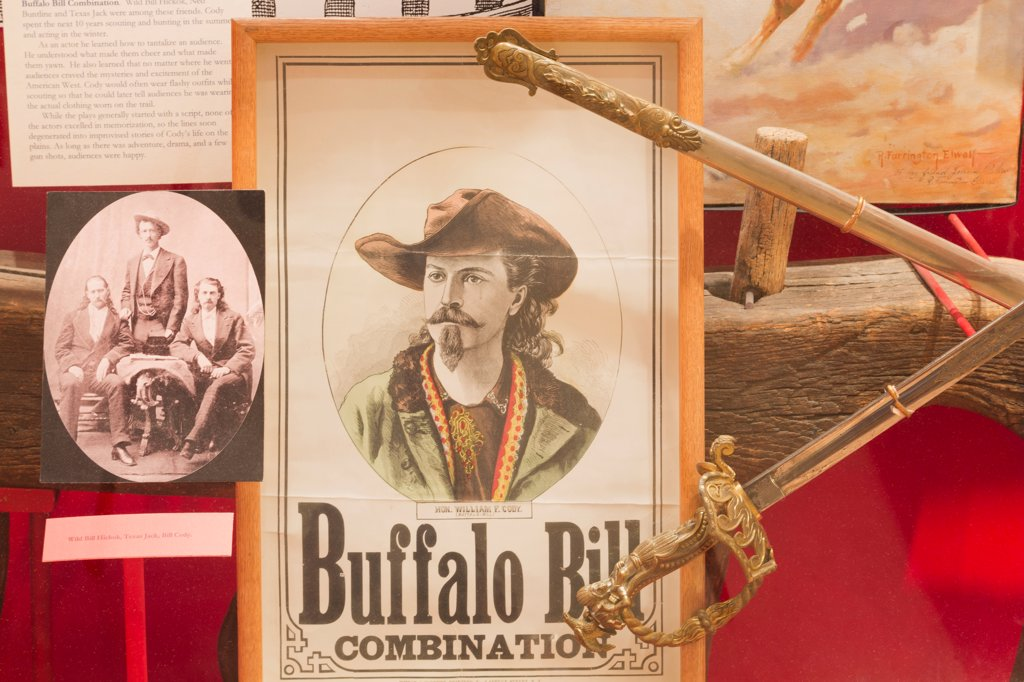 Stock Photo: 1486-16326 USA, Colorado, Golden, Buffalo Bill Museum and Grave