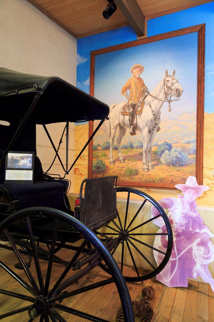 Stock Photo: 1486-16327 USA, Colorado, Golden, Buffalo Bill Museum and Grave