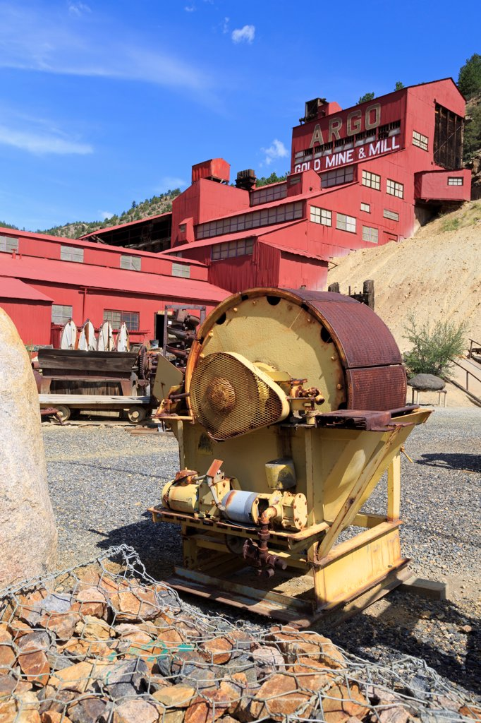 Stock Photo: 1486-16348 USA, Colorado, Idaho Springs, Argo Gold Mine and Mill Museum