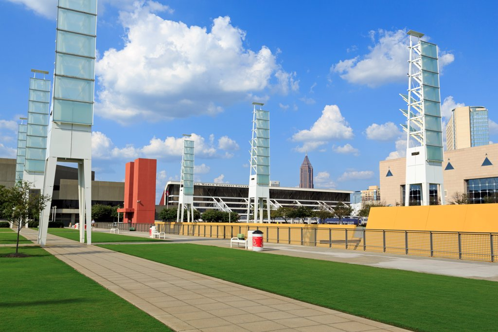 Stock Photo: 1486-16585 USA, Georgia, Atlanta, Georgia World Congress Center