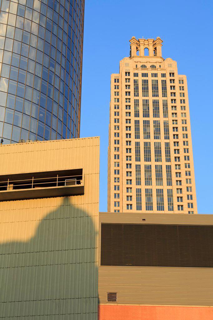USA, Georgia, Atlanta, Downtown : Stock Photo