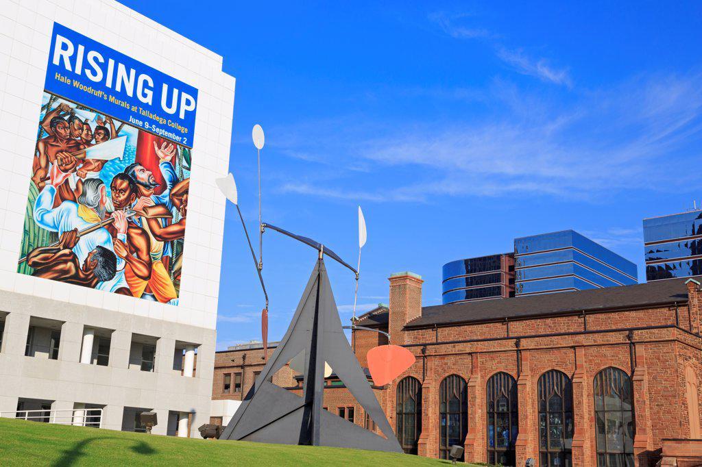 USA, Georgia, Atlanta, High Museum of Art : Stock Photo