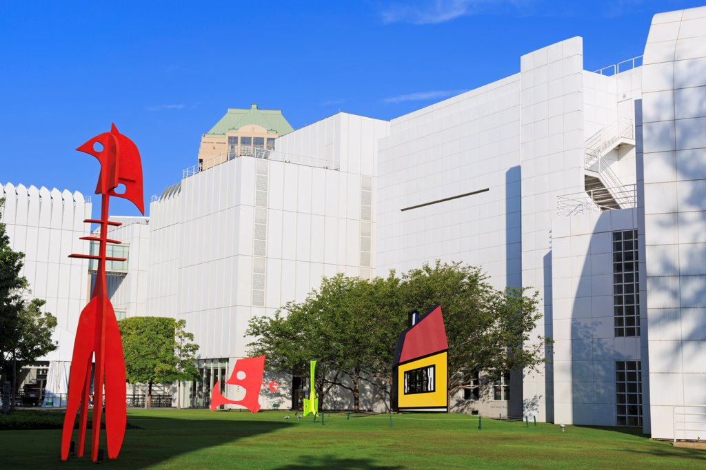 Stock Photo: 1486-16605 USA, Georgia, Atlanta, Exterior of High Museum of Art