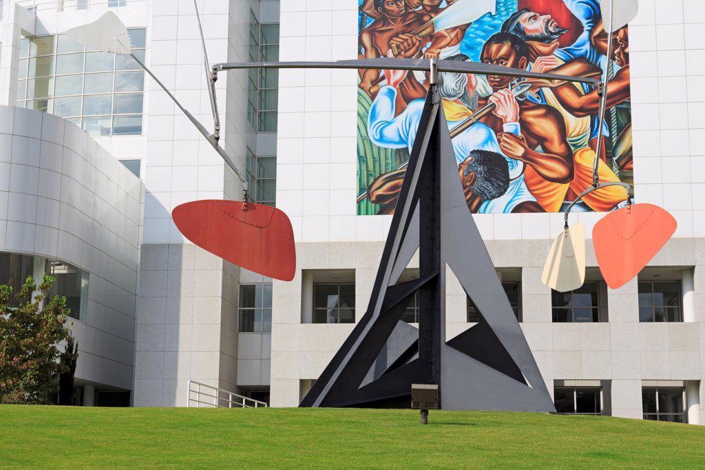 USA, Georgia, Atlanta, Exterior of High Museum of Art : Stock Photo