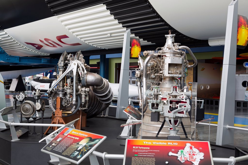 Stock Photo: 1486-16693 USA, Alabama, Huntsville, United States Space and Rocket Center