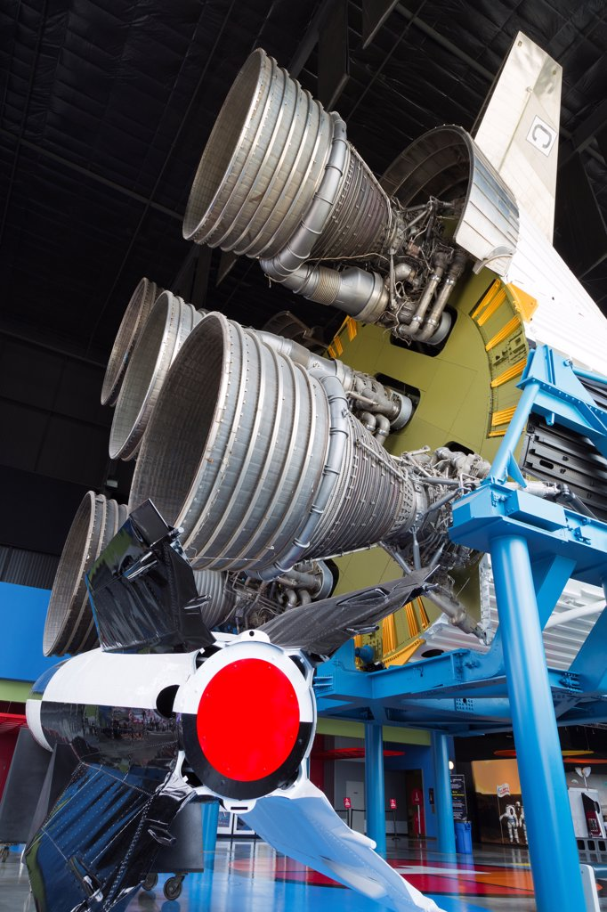USA, Alabama, Huntsville, United States Space and Rocket Center : Stock Photo