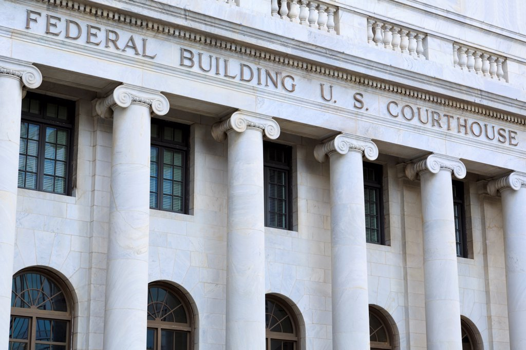 Stock Photo: 1486-16706 USA, Alabama, Birmingham, Federal Building and U.S. Courthouse