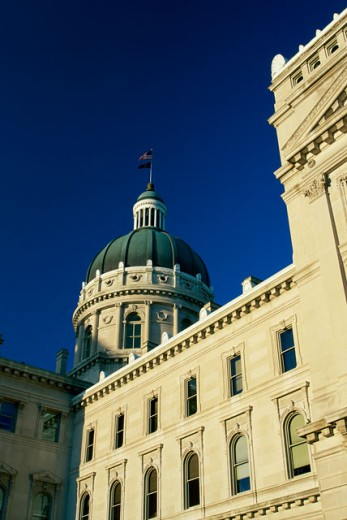 State Capitol, Indianapolis, Indiana, USA : Stock Photo