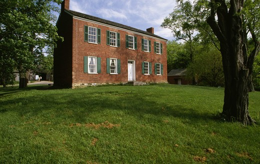 Stock Photo: 1486-1781 USA, Indiana, Indianapolis, Conner House