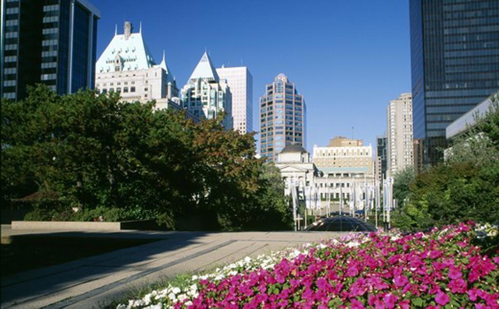 Canada, British Columbia, Vancouver, Robson Square : Stock Photo