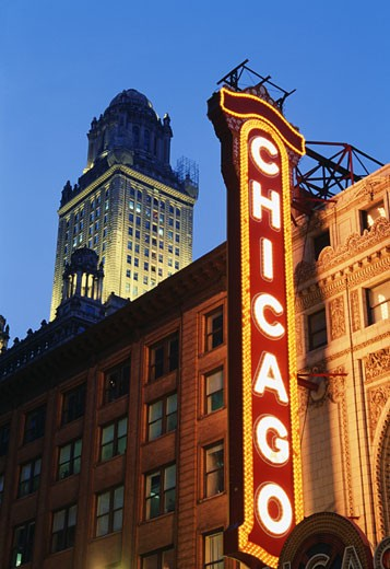 Stock Photo: 1486-227 Chicago Theater