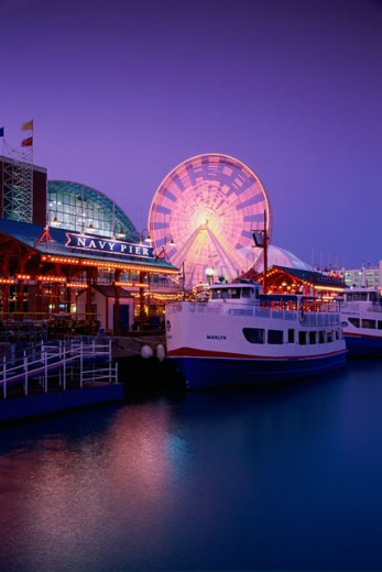 Stock Photo: 1486-3569B Navy Pier