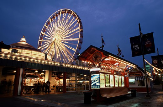 Stock Photo: 1486-3574 Navy Pier