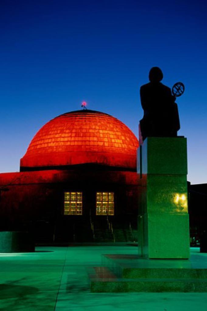 Adler Planetarium Chicago Illinois USA : Stock Photo