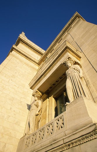 Stock Photo: 1486-3691 USA, Illinois, Chicago, Field Museum of Natural History exterior
