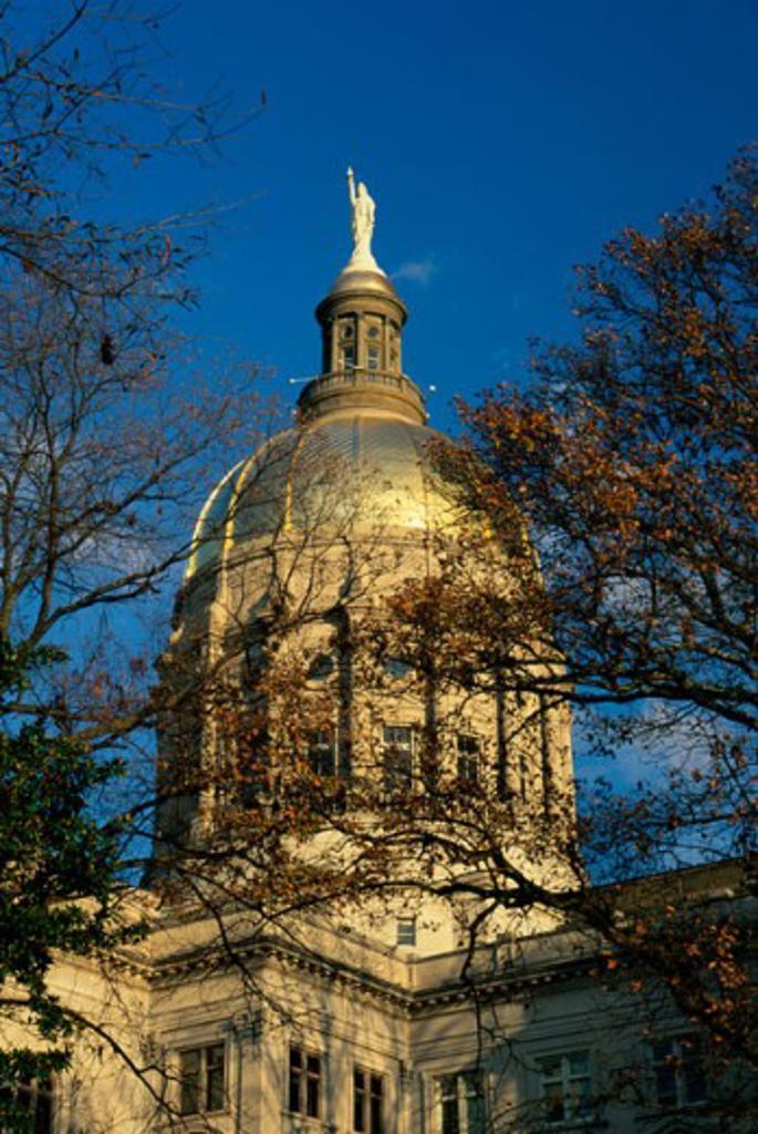 Stock Photo: 1486-3821 Dome roof of the State Capitol, Atlanta, Georgia, USA