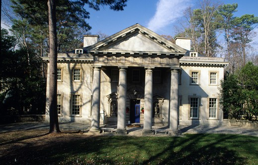 USA, Georgia, Atlanta, Swan House : Stock Photo