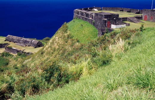 Stock Photo: 1486-3916 Brimstone Hill Fortress
