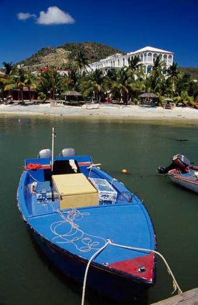 Philipsburg St. Maarten : Stock Photo