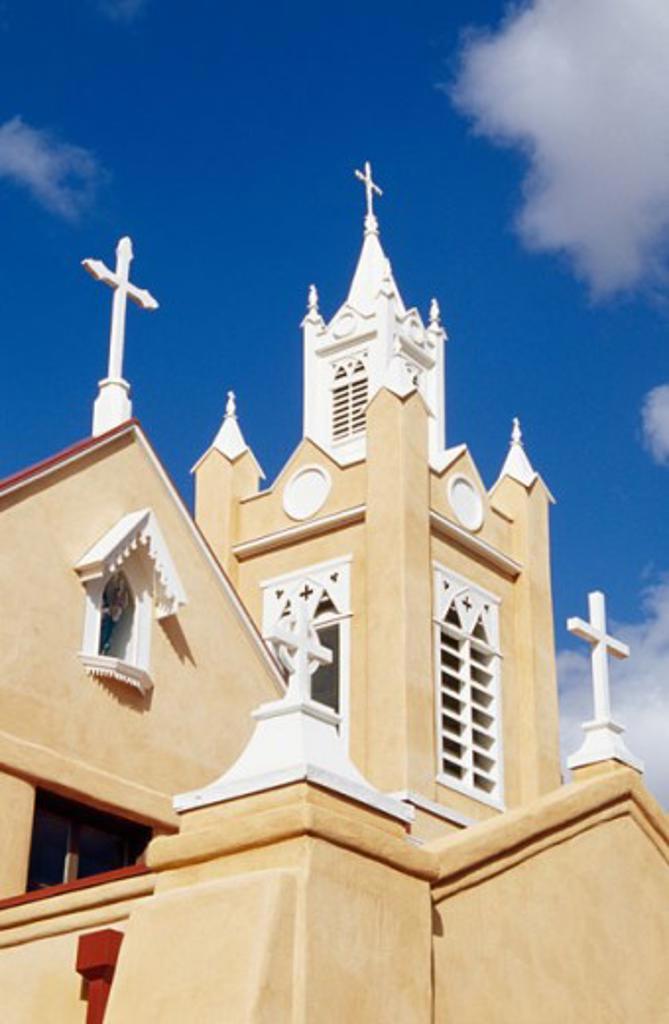 San Felipe de Neri Church Albuquerque New Mexico, USA : Stock Photo