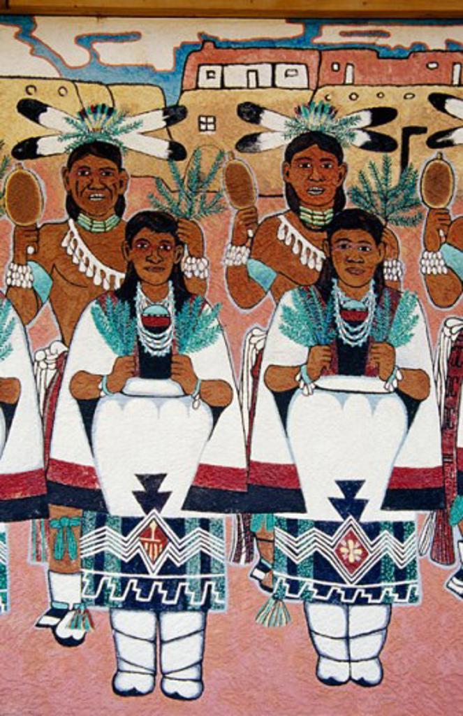 Stock Photo: 1486-4099 Indian Cultural Center Albuquerque New Mexico, USA