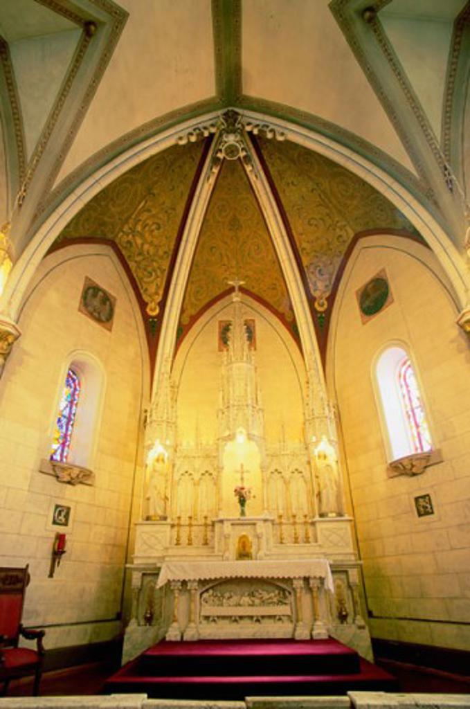 Loretto Chapel Santa Fe New Mexico, USA : Stock Photo