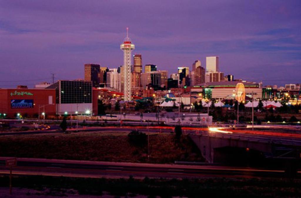 Stock Photo: 1486-4228 Denver Colorado USA