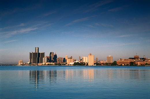 Stock Photo: 1486-423 Detroit