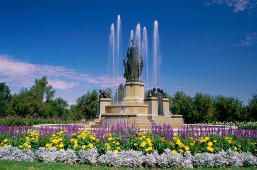 Stock Photo: 1486-4308A City Park Denver Colorado, USA