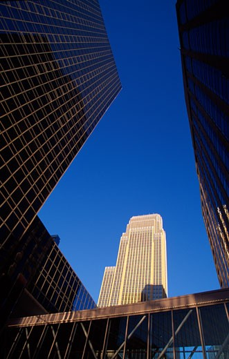 Buildings in a city, Minneapolis, Minnesota, USA : Stock Photo