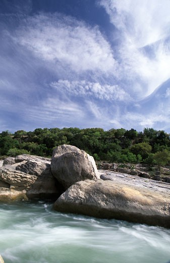 Stock Photo: 1486-4740A Pedernales Falls State Park