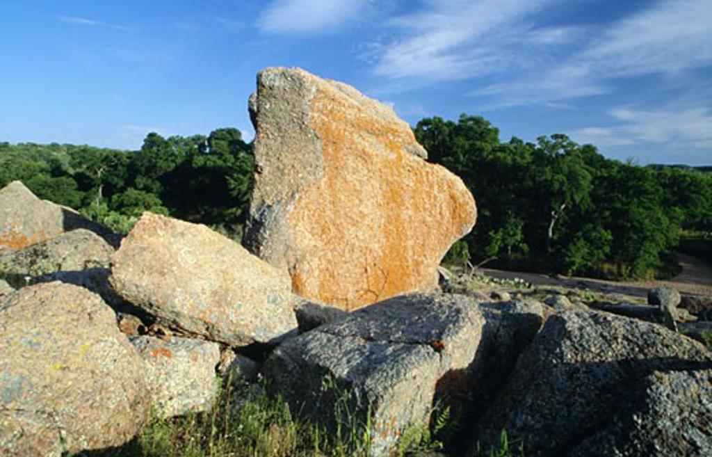 Stock Photo: 1486-4746 USA, Texas, Enchanted Rock State Park