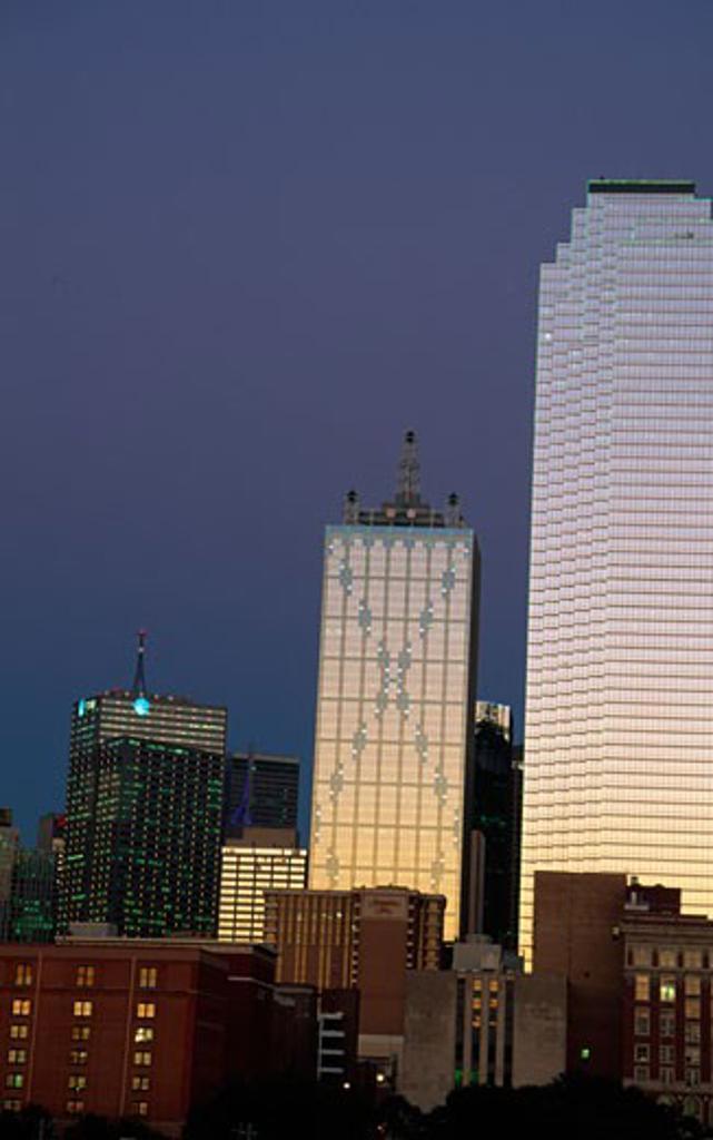 Skyscrapers in a city, Dallas, Texas, USA : Stock Photo