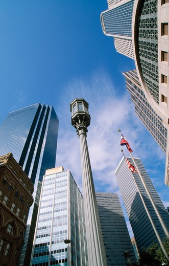 USA, Texas, Dallas, downtown skyscrapers : Stock Photo