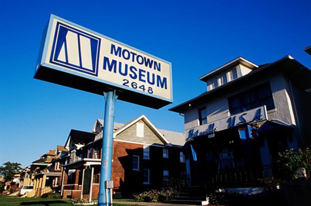 Motown Museum Detroit Michigan USA : Stock Photo