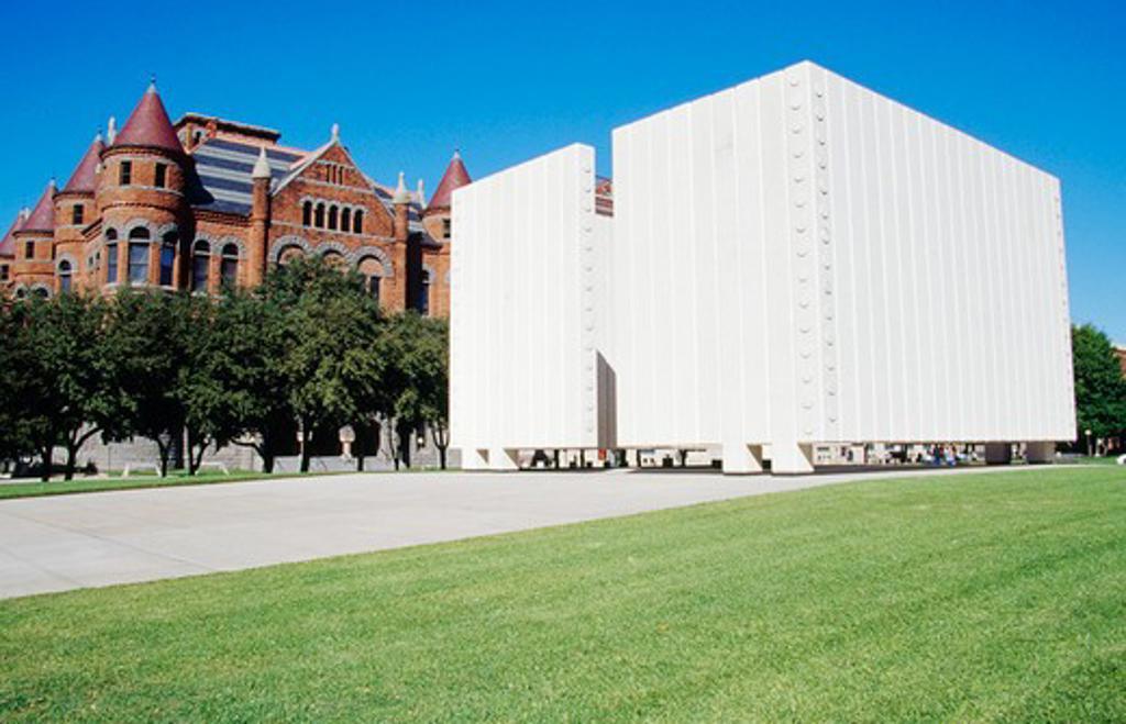 USA, Texas, Dallas, John F. Kennedy Memorial : Stock Photo