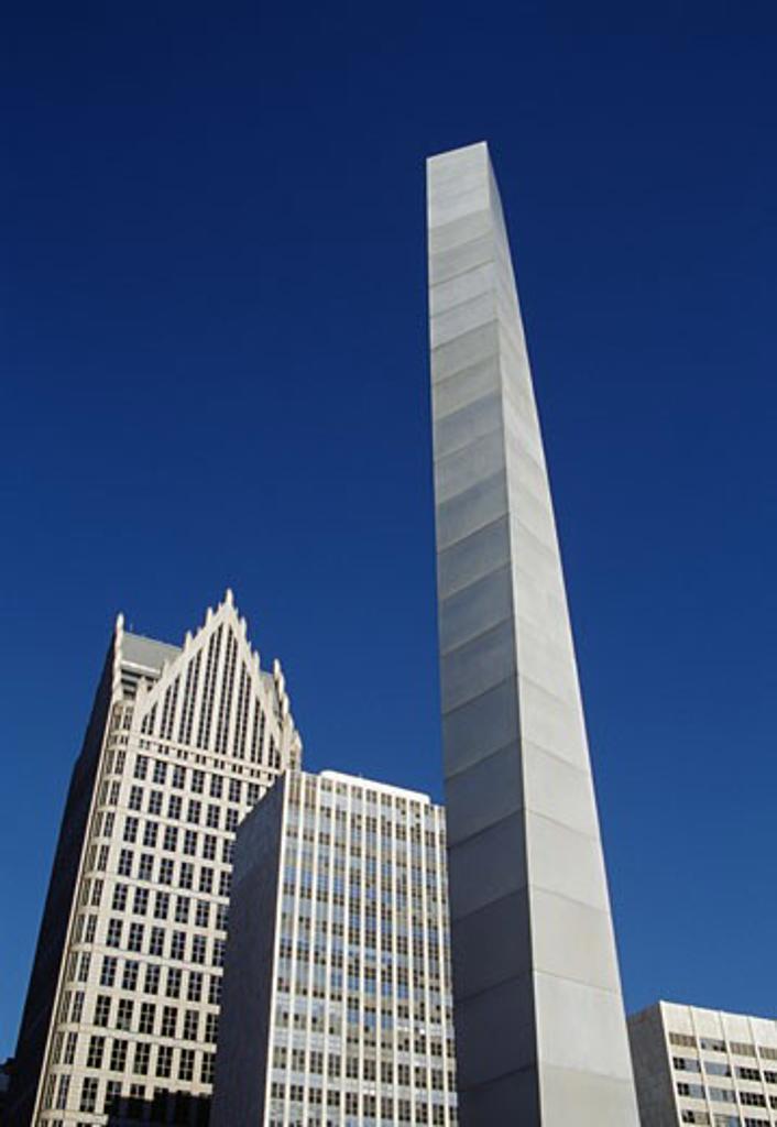 Stock Photo: 1486-519 Detroit Michigan USA