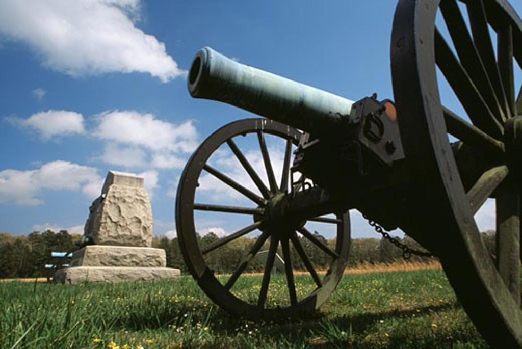 Stock Photo: 1486-5234 Chickamauga and Chattanooga National Military Park Georgia USA