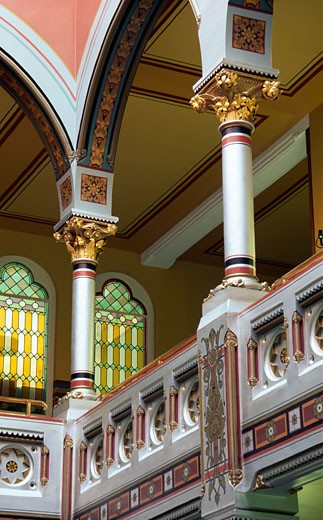 Stock Photo: 1486-5271 Interiors of a government building, Connecticut State Capitol, Hartford, Connecticut, USA