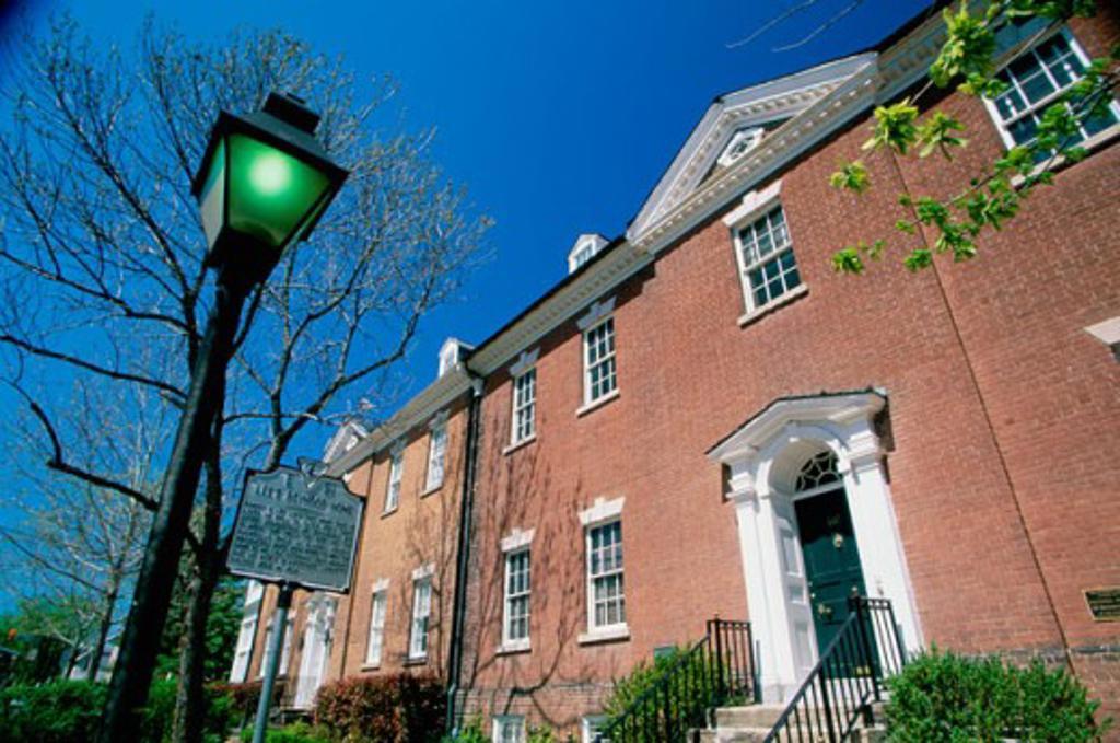 Stock Photo: 1486-5358 Robert E. Lee's Boyhood Home Alexandria Virginia, USA