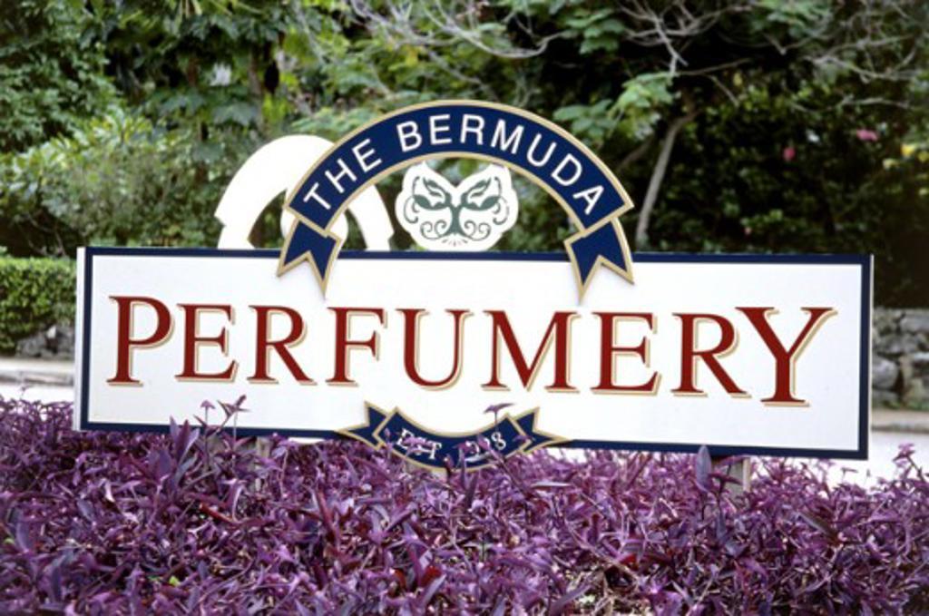 Stock Photo: 1486-564 Perfumery Bermuda