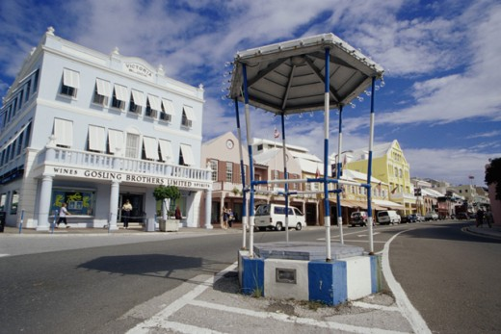 Stock Photo: 1486-583A Hamilton Bermuda