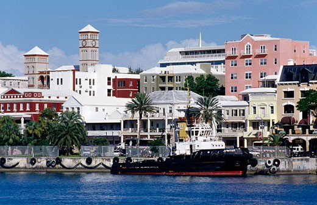 Stock Photo: 1486-588 Hamilton Bermuda