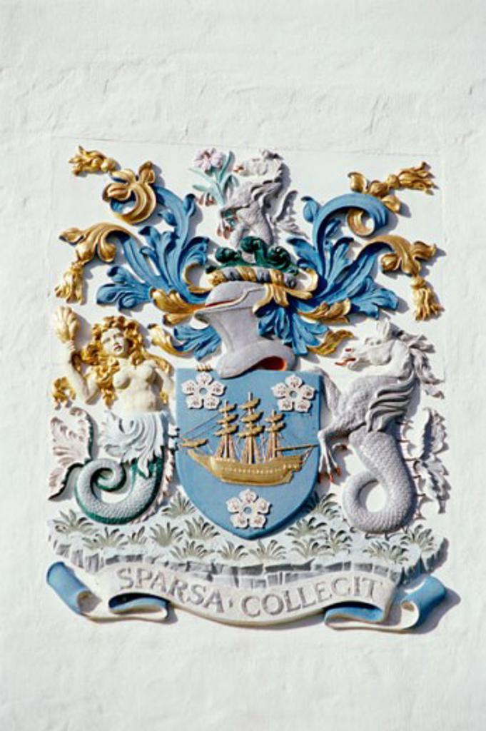 Stock Photo: 1486-596 City Hall Hamilton Bermuda