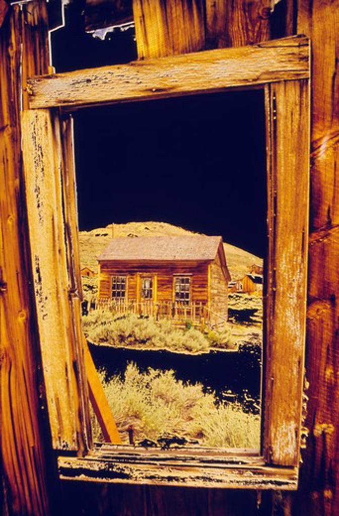 Stock Photo: 1486-5967 USA, California, Bodie State Historic Park