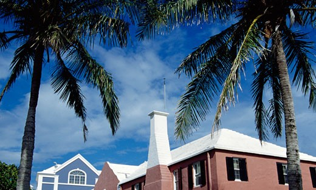Royal Bermuda Yacht Club Hamilton Bermuda : Stock Photo