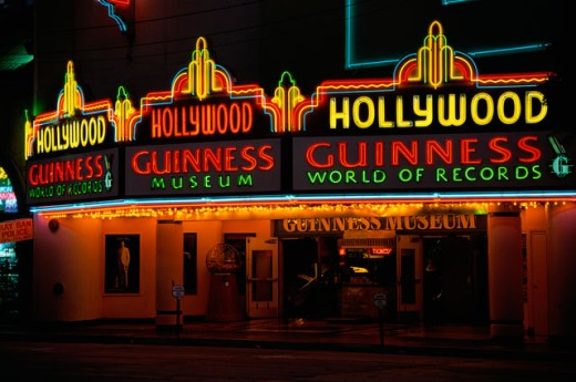 Stock Photo: 1486-5993 Guinness World of Records Museum 