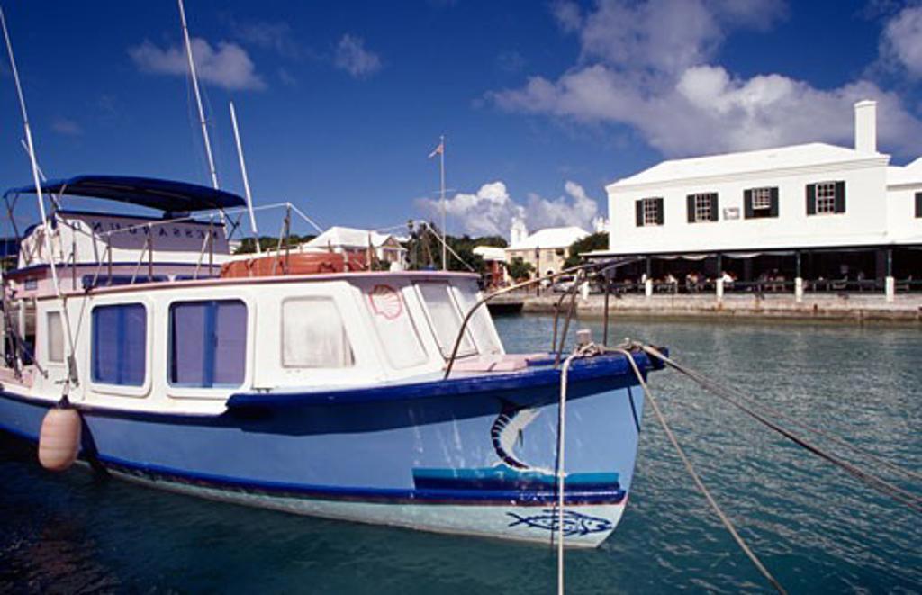 Stock Photo: 1486-613 St. George Bermuda